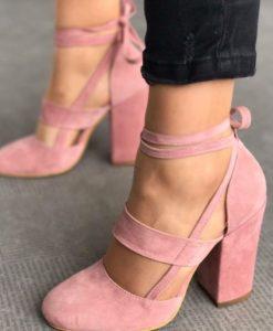 Обувки еко кожа