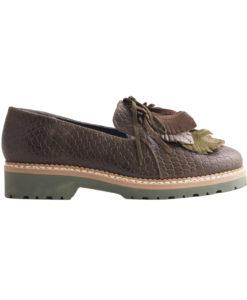Дамски обувки естествена кожа 17-300-17а