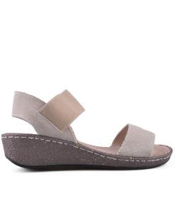 Дамски сандали естествена кожа 18-400-5
