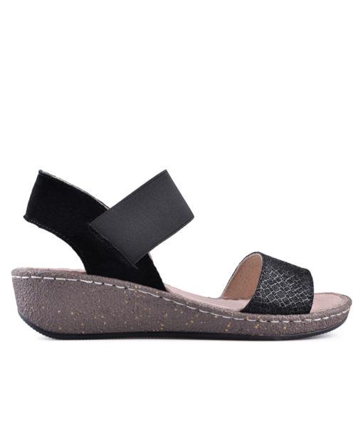 Дамски сандали естествена кожа 18-400-4