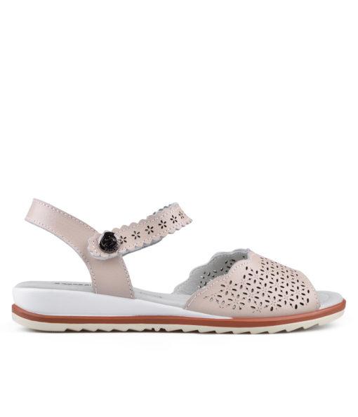 Дамски сандали естествена кожа 18-400-2
