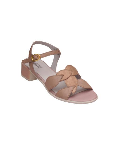 Дамски сандали естествена кожа 18-400-7