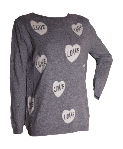 Дамски пуловер 18-390-53