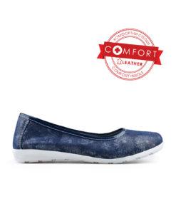 Дамски обувки естествена кожа 08-189-90