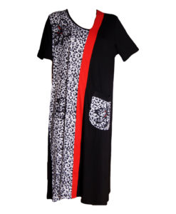 Дамска макси рокля XL 18-199-2