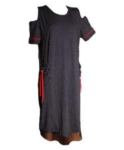 Дамска макси рокля XL 18-199-5