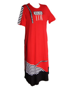 Дамска макси рокля XL 18-199-6
