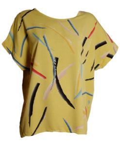 Блузи XL с къс ръкав