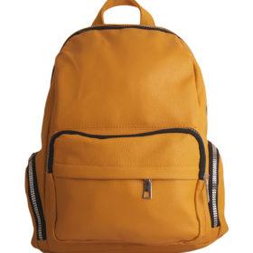 Дамска чанта 01-17-165-53 тип раница цвят жълт