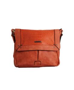 Дамска чанта 01-17-164-62 малка цвят оранжев