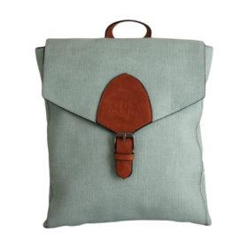Дамска чанта 01-17-164-56 тип раница цвят син