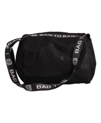 Дамска чанта 01-17-164-71 черна с пайети