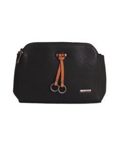 Дамска малка чанта 01-17-163-75а черна