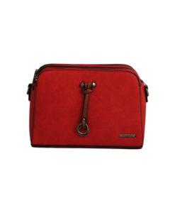 Дамска малка чанта 01-17-163-74червена